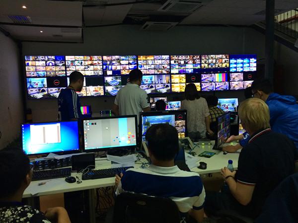 湖南卫视二十五讯道验收