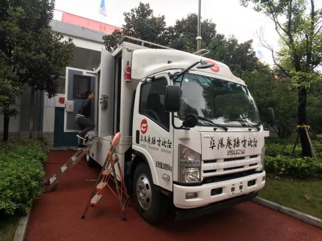 阜阳电视台-四讯道转播车